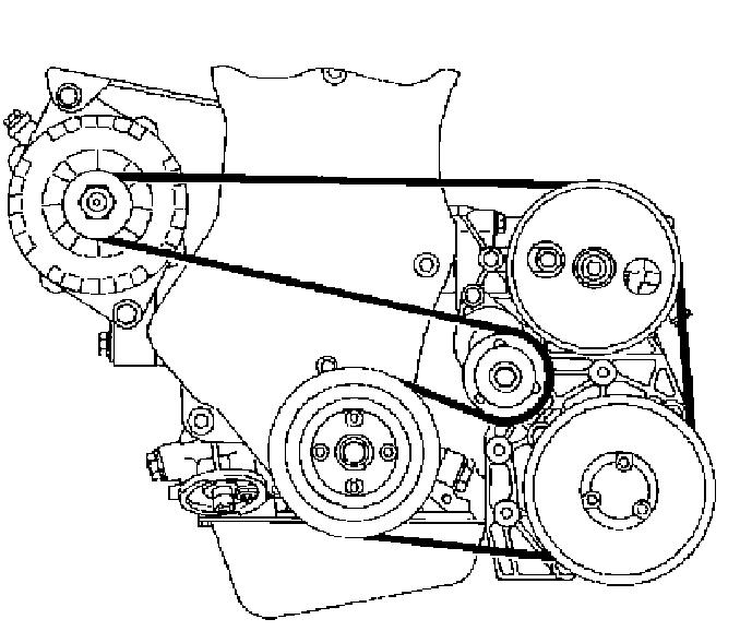 ремней опель омега в схемы установки